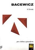 Ok�adka: Bacewicz Gra�yna, III Sonata