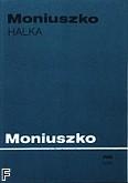Okładka: Moniuszko Stanisław, Halka opera w 4 aktach (partytura)