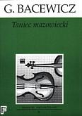 Ok�adka: Bacewicz Gra�yna, Taniec mazowiecki