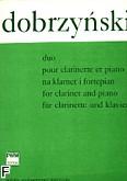 Okładka: Dobrzyński Ignacy Feliks, Duet na klarnet i fortepian