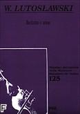 Okładka: Lutosławski Witold, Recitativo e arioso