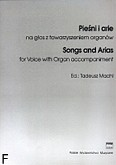 Okładka: Machl Tadeusz, Pieśni i arie kompozytorów XVII-XIX wieku