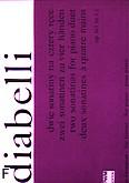 Okładka: Diabelli Antonio, 2 Sonatiny, op. 163 nr 1 i 2