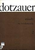 Okładka: Dotzauer Justus Johann Friedrich, Etiudy na wiolonczelę z. 2