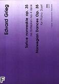 Okładka: Grieg Edward, Tańce norweskie op. 35