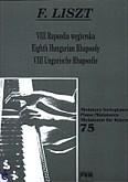Ok�adka: Liszt Franz, VIII Rapsodia w�gierska
