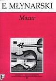 Okładka: Młynarski Emil, Mazur G-dur op. 7
