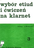 Ok�adka: Kurkiewicz Ludwik, Wyb�r etiud i �wicze� na klarnet, z. 3