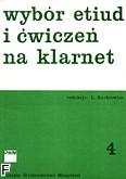 Okładka: Kurkiewicz Ludwik, Wybór etiud i ćwiczeń z. 4