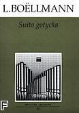 Okładka: Boëlmann Léon, Suita gotycka