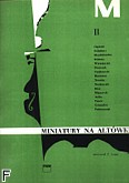 Okładka: Gonet Tadeusz, Miniatury z. 2