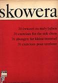 Okładka: Skowera Włodzimierz, 70 ćwiczeń na mały bęben
