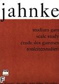 Okładka: Jahnke Zdzisław, Studium gam