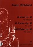Ok�adka: Wohlfahrt Franz, 60 etiud op. 45
