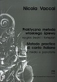 Okładka: Vaccai Nicola, Praktyczna metoda włoskiego śpiewu