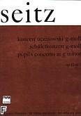 Ok�adka: Seitz Friedrich, Koncert uczniowski g-moll op. 12 nr 3 (wyci�g fortepianowy)