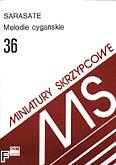 Okładka: Sarasate Pablo de, Melodie cygańskie op. 20 (wyciąg fortepianowy)