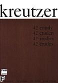 Ok�adka: Kreutzer Rodolphe, 42 etiudy (solo)