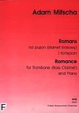 Okładka: Mitscha Adam, Romans na puzon (klarnet basowy) i fortepian