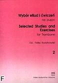 Okładka: Kwiatkowski Feliks, Wybór etiud i ćwiczeń  na puzon, z. 2 (solo)