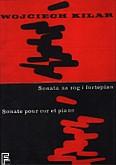 Okładka: Kilar Wojciech, Sonata na róg i fortepian