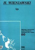 Okładka: Wieniawski Henryk, Gigue e-moll op. 23