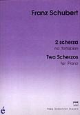 Okładka: Schubert Franz, 2 scherza