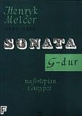 Okładka: Melcer Henryk, Sonata na fortepian i skrzypce