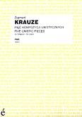 Ok�adka: Krauze Zygmunt, Pi�� kompozycji unistycznych