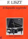 Ok�adka: Liszt Franz, II Rapsodia w�gierska