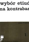 Okładka: Gadziński Wiktor, Wybór etiud na kontrabas, z. 1