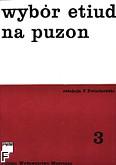 Okładka: Kwiatkowski Feliks, Wybór etiud i ćwiczeń z. 3