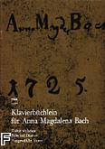 Ok�adka: Bach Anna Maria, Ta�ce wybrane na fortepian