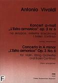 Ok�adka: Vivaldi Antonio, Koncert a-moll