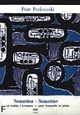 Okładka: Perkowski Piotr, Sonatina na trąbkę i fortepian
