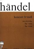 Ok�adka: H�ndel George Friedrich, Koncert h-moll na alt�wk�