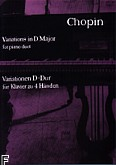 Okładka: Chopin Fryderyk, Wariacje D-dur