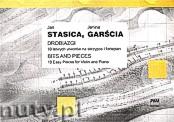Okładka: Stasica Jan, Garścia Janina, Drobiazgi 10 łatwych utworów na skrzypce i fortepian