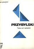 Okładka: Przybylski Bronisław Kazimierz, Tema con variazioni