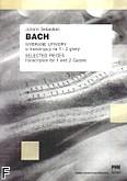 Ok�adka: Bach Johann Sebastian, Wybrane utwory w transkrypcji na 1 i 2 gitary