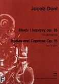 Okładka: Dont Jacob, Etiudy i kaprysy op. 35