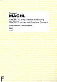Okładka: Machl Tadeusz, Koncert na harfę i orkiestrę symfoniczną /wyc.fort./