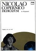 Ok�adka: Koszewski Andrzej, Nicolao Copernico dedicatum kantata na 3 ch�ry mieszane (partytura)