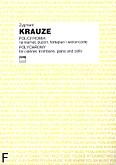 Okładka: Krauze Zygmunt, Polichromia na klarnet, puzon, fortepian i wiolonczelę (głosy)