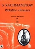 Ok�adka: Rachmaninow Sergiusz, Wokaliza; Romans op. 34 nr 14; op. 6 nr 1