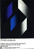 Okładka: Lutosławski Witold, Preludia i fuga na 13 solowych instrumentów smyczkowych (partytura)