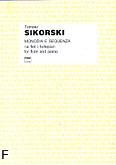 Okładka: Sikorski Tomasz, Monodia e sequenza