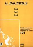 Ok�adka: Bacewicz Gra�yna, Melodia