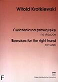Ok�adka: Krotkiewski Witold, �wiczenia na praw� r�k�
