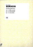 Ok�adka: Serocki Kazimierz, Arrangements na 1-4 flety proste (partytura)